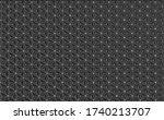 geometric texture ornament...   Shutterstock . vector #1740213707