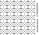 seamless vector pattern in...   Shutterstock .eps vector #1740305594