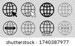 web icon. website pictogram.... | Shutterstock .eps vector #1740387977