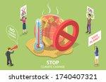 3d isometric flat vector... | Shutterstock .eps vector #1740407321
