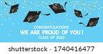 graduation festive traditional... | Shutterstock .eps vector #1740416477