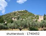 mystras peloponnese greece | Shutterstock . vector #1740452