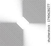 geometric vector pattern.... | Shutterstock .eps vector #1740628277