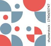 abstract pattern  shape ... | Shutterstock .eps vector #1740650747