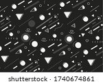 abstract colorful pattern... | Shutterstock .eps vector #1740674861