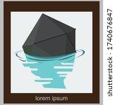 simple color branding identity... | Shutterstock .eps vector #1740676847