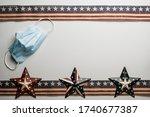 American Stars And Stripes Flat ...