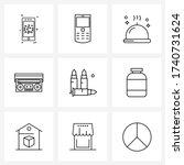 9 universal icons pixel perfect ...