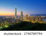 Taipei City Skyline View From...