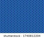 seamless vector pattern of blue ... | Shutterstock .eps vector #1740812204