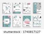 collection of vector... | Shutterstock .eps vector #1740817127