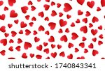 endless seamless pattern of... | Shutterstock .eps vector #1740843341