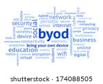 byod bring your own device ... | Shutterstock . vector #174088505