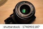 a lumix g7 camera with beautiful lens