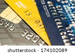 credit card background abstract....   Shutterstock . vector #174102089