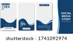 editable creative social media... | Shutterstock .eps vector #1741092974