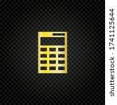 calculator icon. simple...