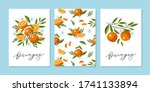 vector greeting card or wedding ... | Shutterstock .eps vector #1741133894
