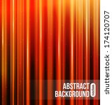 red stripes abstract background | Shutterstock .eps vector #174120707