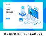 modern flat design isometric... | Shutterstock .eps vector #1741228781