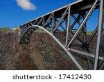 Horizontal Image Of A Bridge...
