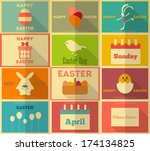 Easter  Retro Posters...