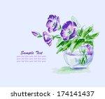 Spring Flowers In Vase....