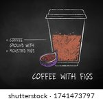 vector chalk drawn sketch of... | Shutterstock .eps vector #1741473797