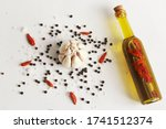 Spices Of Garlic Dried Red...
