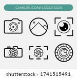 camera icon vector illustration....