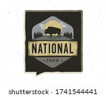 vintage adventure badge... | Shutterstock .eps vector #1741544441