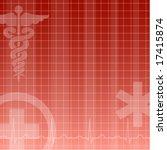 medical background   Shutterstock .eps vector #17415874
