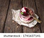 Curd Dessert Jar. Cottage...