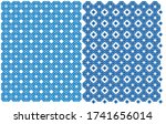 vector illustration. a mesh... | Shutterstock .eps vector #1741656014