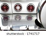Rear Lamps Of Classic Car