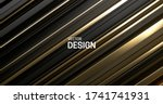 black and golden layered... | Shutterstock .eps vector #1741741931