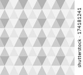 vector seamless geometric... | Shutterstock .eps vector #174181241