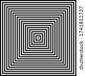 Abstract Geometric Op Art...