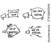 Hand Drawn Join Our Team...