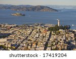 san fransicso bay  and alcartaz | Shutterstock . vector #17419204