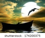 beautiful landscape   | Shutterstock . vector #174200375