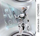 modern designed robotic...