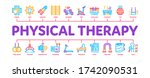 physical therapy and recovery... | Shutterstock .eps vector #1742090531