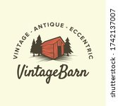 Barn Logo Vintage Barn Shed...