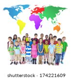 group of children | Shutterstock . vector #174221609
