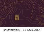 the stylized height of the... | Shutterstock .eps vector #1742216564