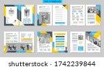 brochure creative design.... | Shutterstock .eps vector #1742239844