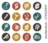 a vector illustration of... | Shutterstock .eps vector #174224957