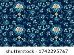 vintage seamless ethnic pattern.... | Shutterstock .eps vector #1742295767