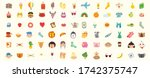 big set of children  travel and ...   Shutterstock .eps vector #1742375747